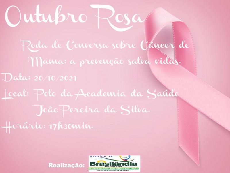 OUTUBRO ROSA RODA DE CONVERSA.