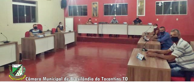 Sessão Câmara Municipal de Brasilândia do Tocantins- TO.